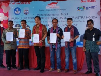 MoU SMKN 3 Tanjung Selor